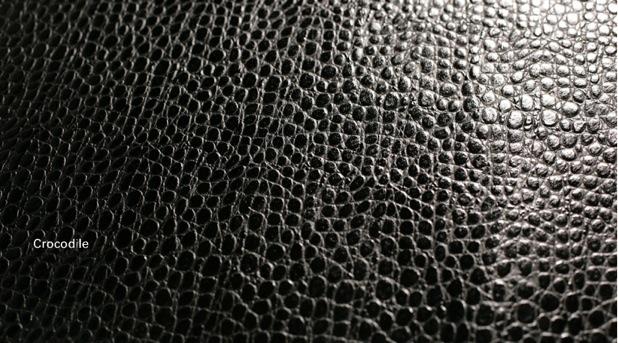 クロコダイル形押 ブラック
