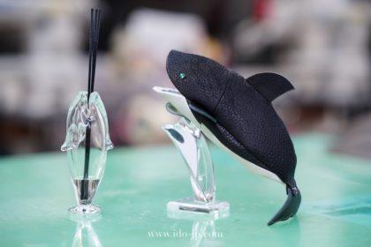 シャチのメガネケース